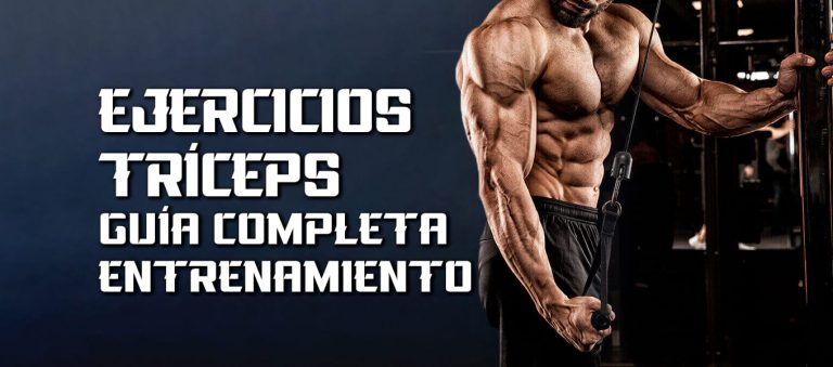 Ejercicios Tríceps – Guía completa entrenamiento