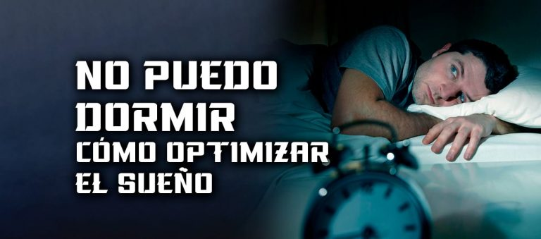 No puedo Dormir – dormir y optimizar el sueño