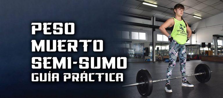 Peso Muerto Semi-Sumo – Guía ejercicio