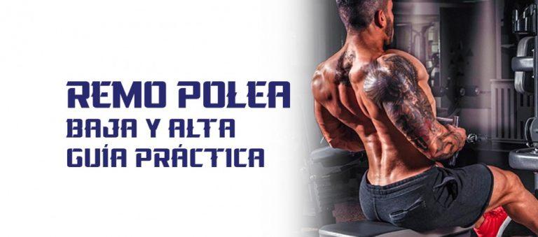 Remo Polea Baja y Alta – Guía Práctica ejercicios