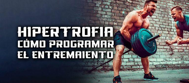 Hipertrofia Muscular – Programar el entrenamiento