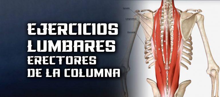 Ejercicios Lumbares – Músculos espalda baja