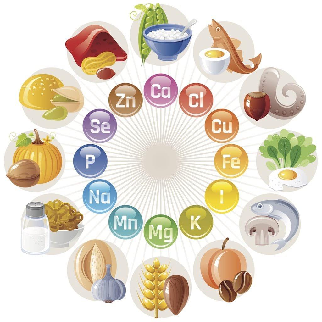 minerales nutrición deportiva